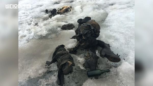 75년 전 실종된 부부, 스위스 빙하에서 발견