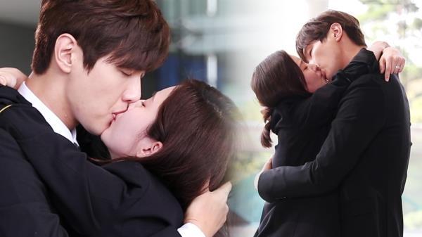《메이킹》 지현우·서현, 격정적 재회 키스♥ 비하인드