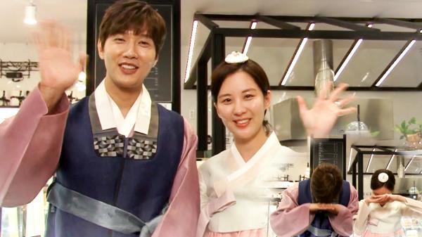 《메이킹》 지현우·서주현, 즐거운 추석 보내세요! #도둑놈도둑님과함께^^*
