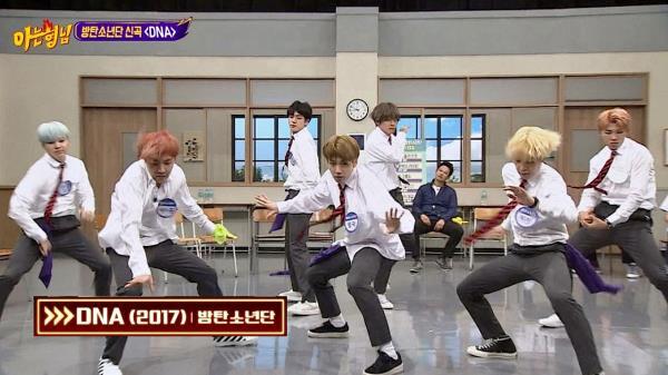 [방탄소년단] 발바닥에 껌 붙은 춤! 신곡 'DNA'♪ 무대♡