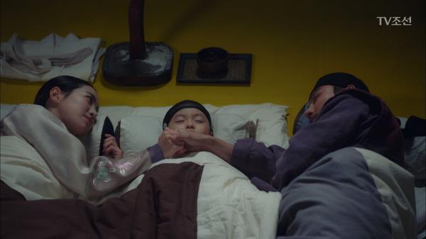 윤시윤&진세연의 애틋한 잠자리(with 어린 왕)