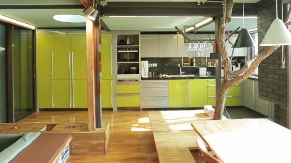 대나무를 닮은 '연둣빛' 이탈리아식 퓨전 한옥 (하우스)