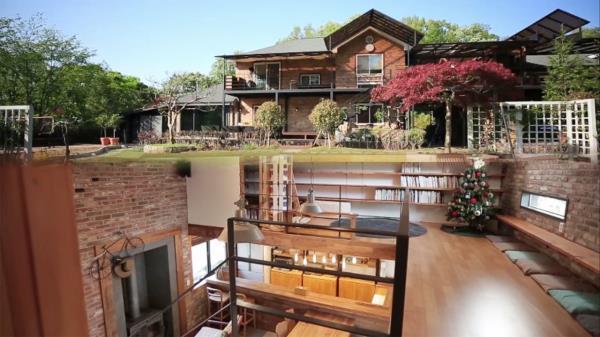 아름다운 정원을 품고 있는 '용인 주택'의 다양한 공간! (하우스)