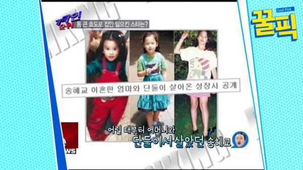 '신혼' 송혜교, 어머니와 단둘이 살았던 그녀의 60억 효도 정체는?