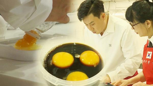 이상민, 사유리 부모를 위한 특제 반찬 '계란장' 만들기!