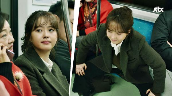 (사이다) 고아라가 지하철 쩍벌남+진상 아줌마에 대처하는 법