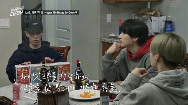 NCT 지성의 선물에 감동받은 기광♡ (+ 태민의 위기대처)