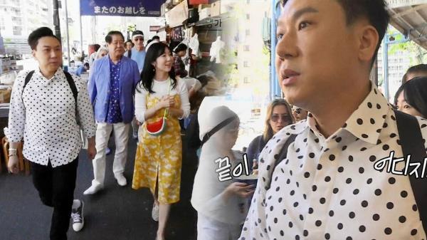 이상민, 일본인에 일본 관광시켜주는 '궁슐랭 가이드'