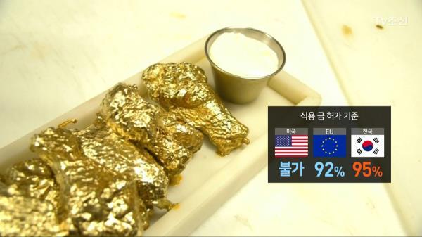 [CSI]식용 금가루에 '중금속'…먹어도 되나?