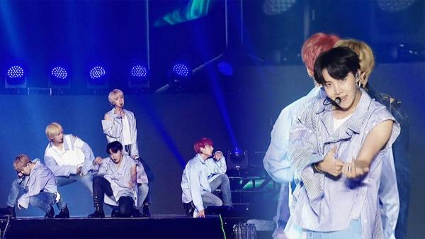 세계를 제패한 방탄소년단의 레전드 명곡 'DNA'