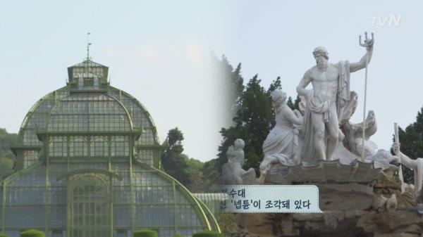 [쇤브룬 관광②] 쇤브룬 온실, 넵튠 분수, 오랑제리까지!