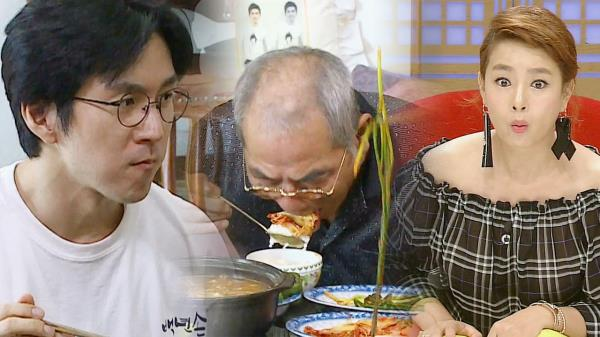 권해성 장인, 통김치 흡입하는 블록버스터 식성 '문세윤도 인정'