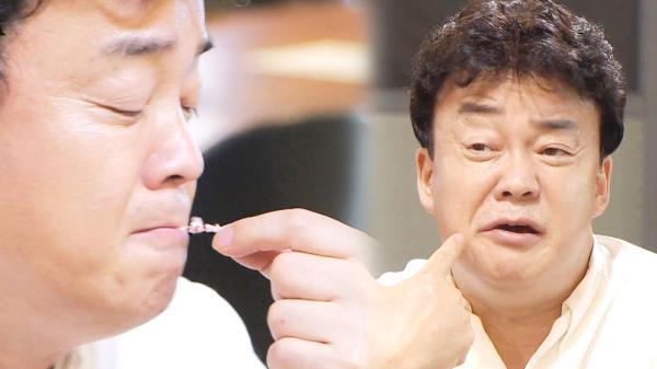 """""""씹으면서 비린내 나"""" 백종원, 초밥집에 '냉혹한 평가'"""