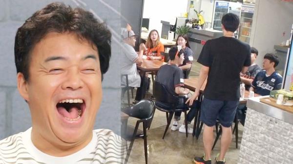 """백종원, 각 잡힌 담당 피디에 정확한 촉 """"응원단장 같애"""""""