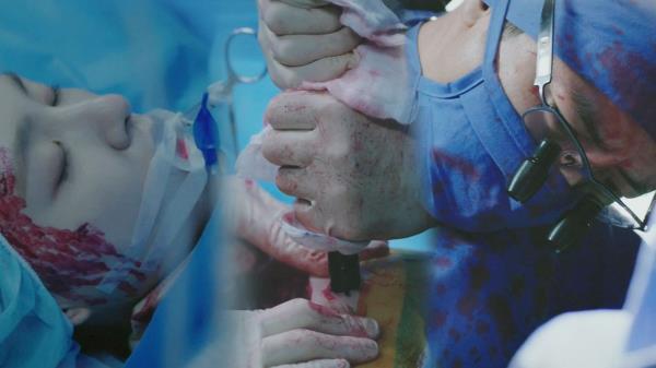 고수, 서지혜 심장에 박힌 철근 뽑으며 수술 성공!