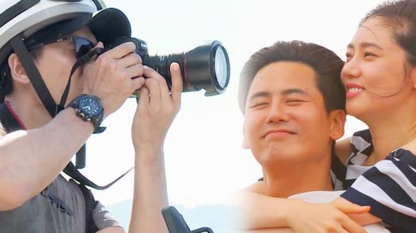 """우효광, 로맨틱 포토그래퍼의 외침 """"마누라 사랑해!"""""""