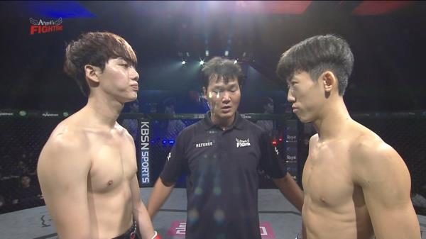 남성 MMA 패더급 - 이재혁 vs 이대원 - 8회 엔젤스파이팅 자선격투기 대회