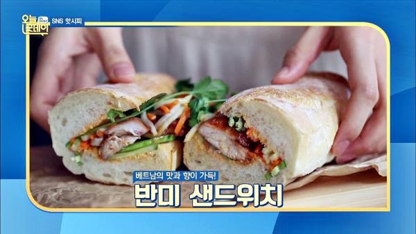 [SNS 레시피] 베트남 대표 길거리 음식 '반미 샌드위치'