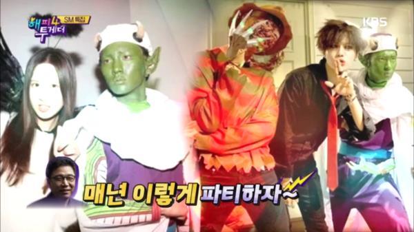SM 할로윈 파티의 스타트는 샤이니!?