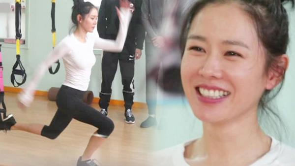 손예진, TRX 강사 자격증 8년 차의 위엄 '자기 관리 퀸'