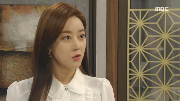 """김혜선에게 경고를 하는 오승아,  """"전노민의 말 믿지 말아요"""""""
