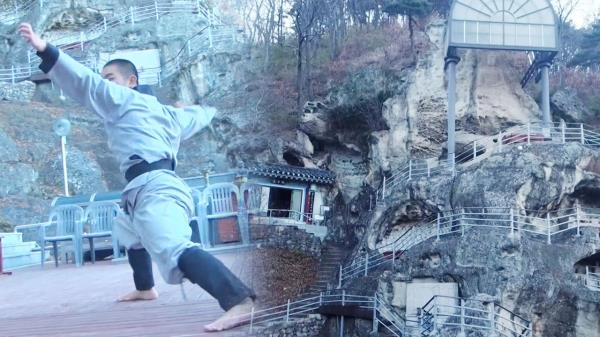 한국의 소림사! 국내 최초 석굴 사원 골굴사에서 배우는 선무도