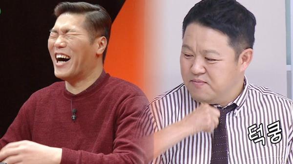 """당황한 김구라의 쿨한 변명 """"돈으로 줄게"""""""