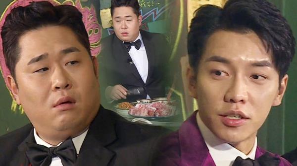 """""""이 고기 다 굽나요?"""" 문세윤, 이승기 질문에 '심기 불편'"""