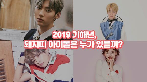 지민·뷔·황민현·옹성우·JR 등 대박, 돼지띠 아이돌 누구?