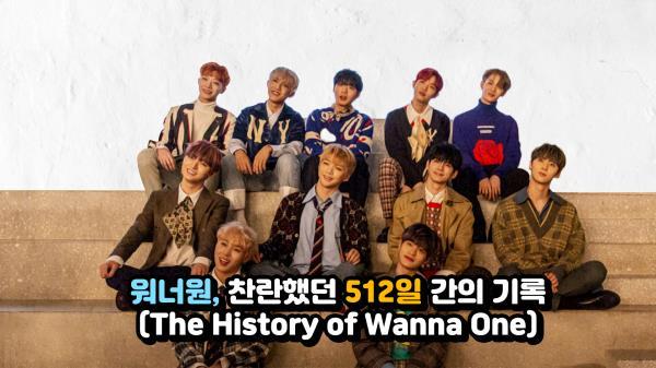 워너원, 찬란했던 512일간의 기록(The History of Wanna One)