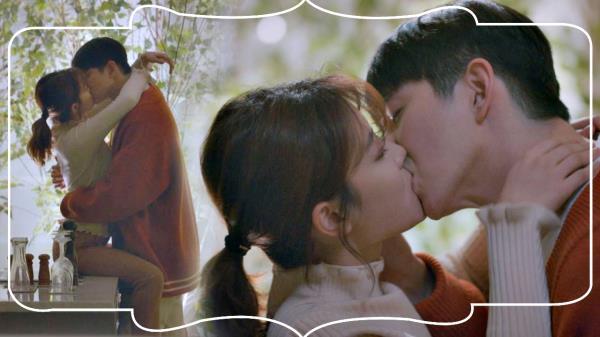 [달달 엔딩] 김유정♥윤균상, 연애세포 자극하는 '테이블 키스'