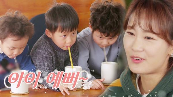 김지민, 귀여운 조카들 모습에 미소 '육아셰어링'