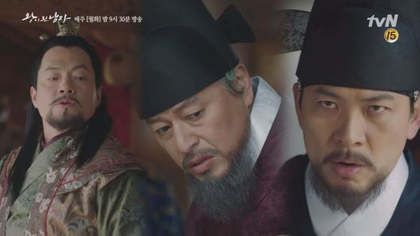 김상경을 향해 칼을 휘두르는 병부우시랑 앞에 나타난 의외의 인물?