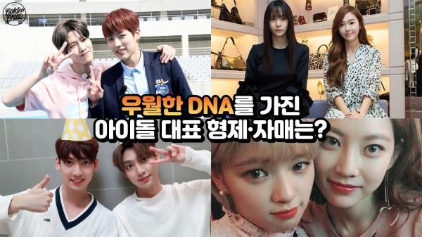 'DNA의 힘'…형제·자매가 모두 대박난 아이돌