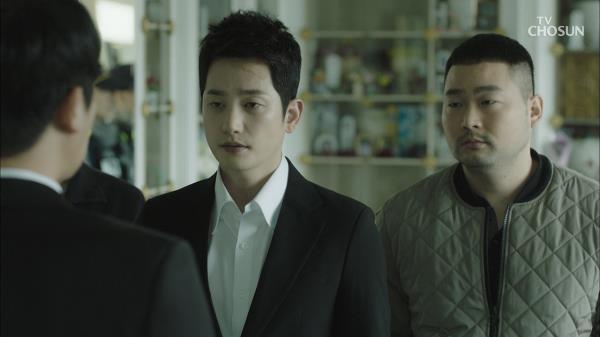 김지훈 죽인 살인범을 체포하는 박시후!