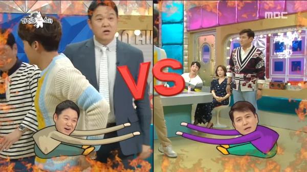 김구라 vs 변우민 유연성 대결, 과연 승자는?!