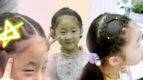 '머리 묶는 방법만 100개' 딸바보 아빠의 꿀팁!