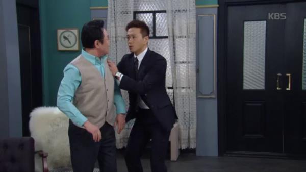 """회장 김병기 세뇌시키는 진태현 """"할아버지가 왜 이러시나..."""""""