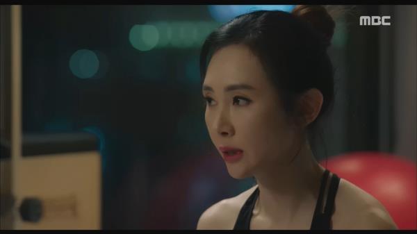 """""""말을 알아 들어야 말이지..."""" 운동을 하며 김상중을 생각하는 채시라"""