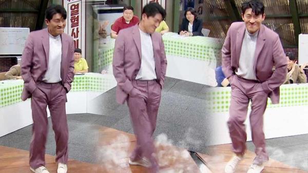 '핵인싸' 고준, 축하공연 '오나나나' 로 봉인 해제!