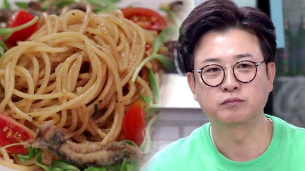 [선공개] 초딩입맛 김성주의 '정어리 파스타' 맛평은?!