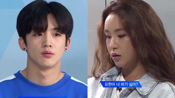 ′프로듀스X101′ 김요한, 트레이너에 혼쭐…무슨 일?
