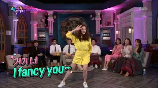 [이 순간은 내가 걸그룹★] 이주빈의 트와이스 <Fancy> 커버 댄스 무대♬♩(feat.레인보우 연습생 클라스)