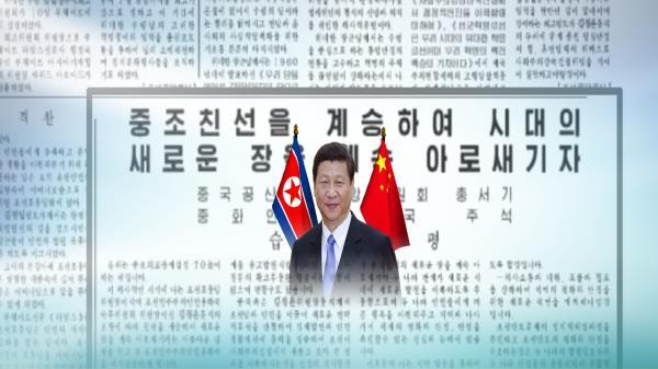 """中 시진핑, 北 노동신문 기고…""""한반도 대화 기여"""""""