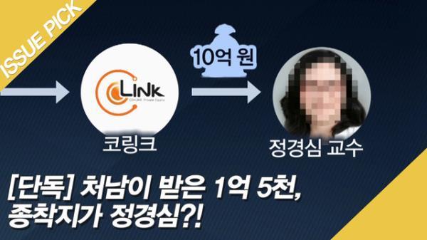 [단독] 처남이 받은 1억 5천, 종착지가 정경심?!