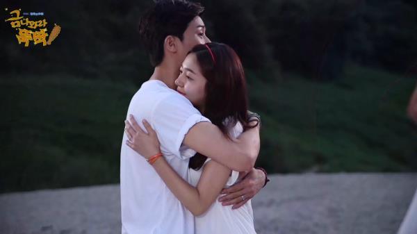 《메이킹》 Good bye 몽현&현태, 백진희와 박서준의 마지막 인터뷰