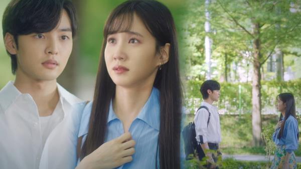 """[벅찬 엔딩] """"좋아해요"""" 박은빈, 김민재에 숨길 수 없는 눈물 고백♥"""