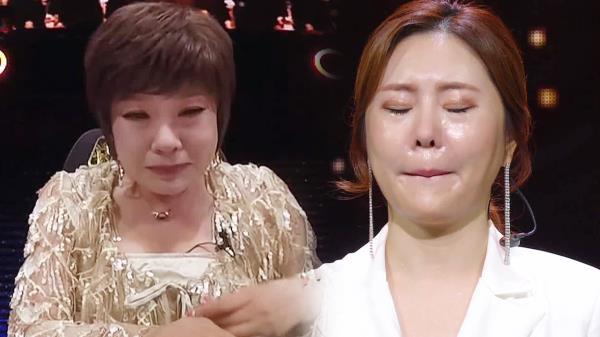 김연자×임지안, 눈물로 고개를 묻는 선배와 후배