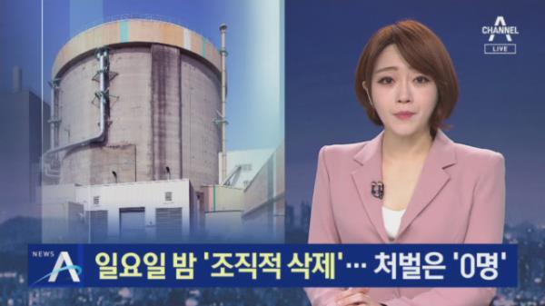 '월성 1호기' 조기폐쇄 자료 '조직적 삭제'…처벌은 '0명'