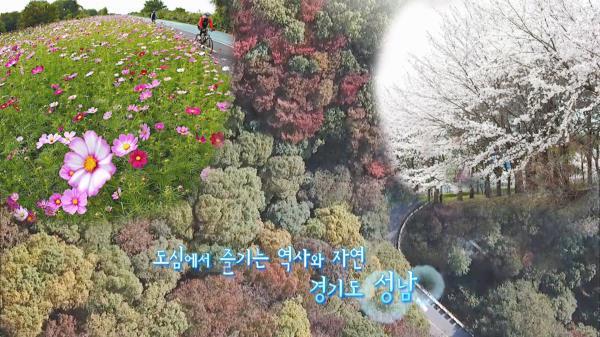 사계절이 아름다운 성남의 명소 '탄천길'